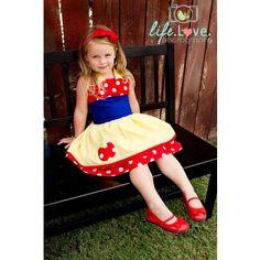 Snow White girls costume ~ Halloween