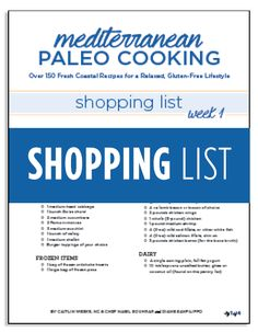 The Mediterranean Paleo Cookbook has easy recipes including snacks, soups, & breakfast ideas for the Paleo diet.