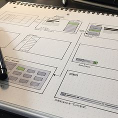 Wireframing on paper. No need for fancy software. Do you wireframe on paper or in a software? Credit to @dwightthemayor #digital #interface #mobile #design #application #ui #ux #webdesign #app #userinterface #photoshop #userexperience #inspiration #materialdesign #uxdesignmastery #creative #dribbble #pixel #behance #appdesign #sketch #designer #website #programming #art #work #concept #amazing #uxdesigning by uxdesignmastery