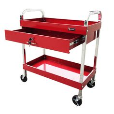 30 in. One Drawer Steel Tool Cart