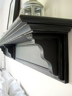 This is the building plans for headboard shelf ive been looking for!
