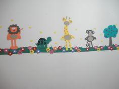 Artes da Catis: Decoração Salinhas de Culto Infantil