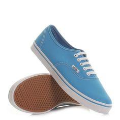 Vans Authentic Lo Pro Shoes - Neon Diva Blue. £48