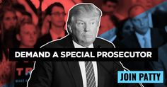 Call on Republicans: Demand an independent special prosecutor to investigate President Trump's ties to Russia!