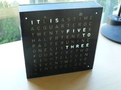 DIY Word Clock