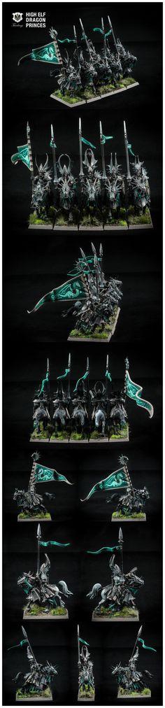 Dragon, Dragon Princes, High Elves, Warhammer Fantasy - Dragon princes - Gallery - DakkaDakka | Toy Soldiers for *real* men.