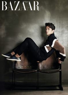 Minwoo - Harper's Bazaar Magazine October Issue '13