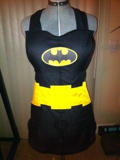 10 Geek Aprons: Wonder Woman, Batman, Harley Quinn, Mario & More. Absolutely too cute!