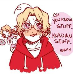 Hetalia - Red Velvet Pancakes || Aww baby... you're blushing and your eyes, you think of someone you like. How cute~!