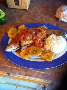 Fried  fish Nicaraguan style a la tipitapa