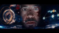 Cantina Creative Gives Iron Man 3 a 'Heads Up' Holographic Displays, Cedar Point, Iron Man 3, Maxon Cinema 4d, Head Up Display, Cool Tech, The Real World, Interactive Design, Motion Graphics