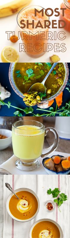 Get on board this miracle root craze! Turmeric packs a host of health benefits, and these top socially shared recipes will help you get the most out of it. | spryliving.com