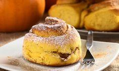 Rollitos de calabaza a la canela   Pumpkin cinnamon rolls