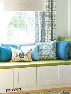 window seat cushion cover