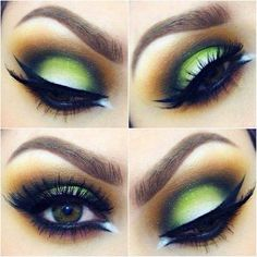 14 Colorful and Cool Makeup Ideas that You must try Tonight