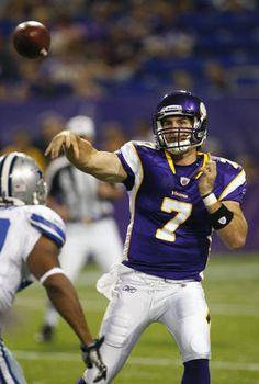 Christian Ponder  #7-Minnesota Vikings  Quarterback  My favorite QB in the NFL :)