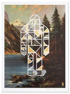 Big Foot Inspired Art Show Posters/Prints by Office | Allan Peters' Blog
