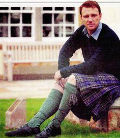Kevin McKidd...in a kilt.