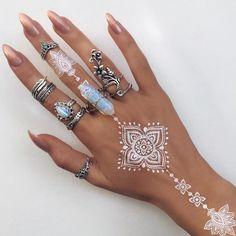 white henna - Recherche Google