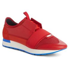 db49ef712ff Men s Balenciaga Race Runner Sneaker (€565) ❤ liked on Polyvore featuring  men s fashion