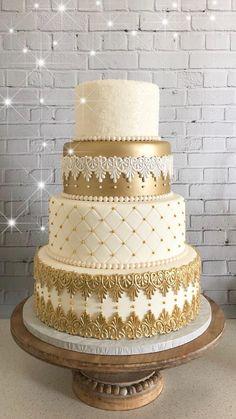 "wedding Cakes gold - Fake Wedding Cake, Fake Cake, Display Cake, Faux Cake ""The Cassiopeia"" Fake Wedding Cakes, Wedding Cake Display, Amazing Wedding Cakes, Elegant Wedding Cakes, Wedding Cake Designs, Wedding Cake Toppers, Rustic Wedding, Fondant Wedding Cakes, Wedding Rings"