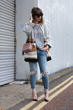 The Stripe Cardigan - The Lovecats Inc