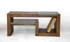 Hand Made Vertical Grain Coffee Table by Labc Design | CustomMade.com