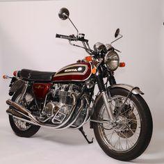HONDA CB 500 FOUR Classic Honda Motorcycles, Honda Motorbikes, Cars Motorcycles, Honda Cb 500, Japanese Motorcycle, Hot Bikes, Classic Bikes, Super Bikes, Vintage Japanese