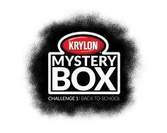 Krylon Mystery Box Challenge 1: Back to School - visit our friends: Beckie (www.infarrantlycreative.net), Gail (myrepurposedlife.net), and Shelley (http://www.thehouseofsmiths.com)