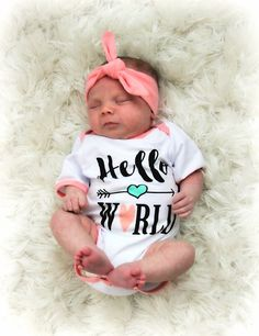 a62fe10f7 7 Best Newborn Baby Girl Outfits images