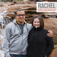 """Rachel: """"I cook because it allows you to be creative, resourceful, observant, and constantly improve. It's also the way to tastier, healthier food at any time, day or night!""""   Hero in the Kitchen via @CookSmarts"""