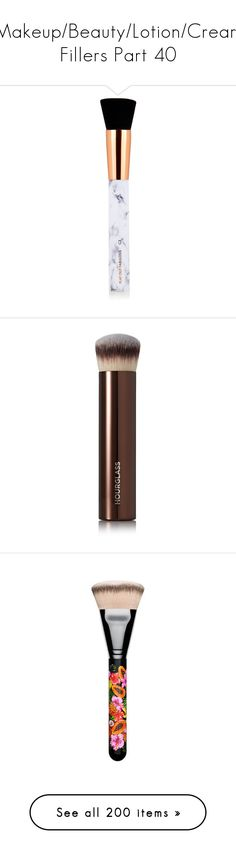 """""""Makeup/Beauty/Lotion/Cream Fillers Part 40"""" by mystic-moonstone ❤ liked on Polyvore featuring beauty products, makeup, makeup tools, makeup brushes, angled makeup brush, angled contour brush, contour makeup brush, contour brush, slanted makeup brush and colorless"""