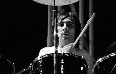 Keith Moon of The Who. i read somewhere that the Muppet character Animal is based on him. How appropriate.