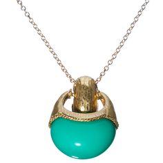 $25.00  Turquoise Gem Necklace