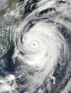 gorgeous and terrifying picture of Typhone Neoguri from space