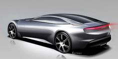 Pininfarina Cambiano Concept - Design Sketch / Follow my MOTO sketches board!