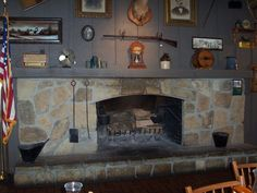 If I could only fit Cracker Barrel's fireplace in my house ...