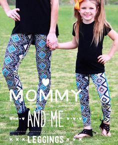 fcc76eea2df056 Mommy and Me Aztec leggings Aztec Leggings, Lularoe Jill, Mommy And Me, Lula
