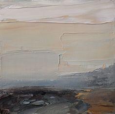 "caragonierartist: """"Fortitude"" 6 x 6in, acrylic on canvas ©Cara Gonier 2016 """