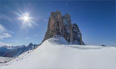 Drei Zinnen - Bei den drei Zinnen in Südtirol