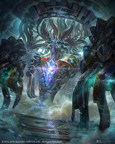 Mobius Final Fantasy: Anima Boss from FF XIII - by jeremy... #Art - #Art #LoveArt http://wp.me/p6qjkV-fM4