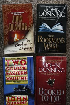 Lot of 4 John Dunning books by TheKindLady on Etsy