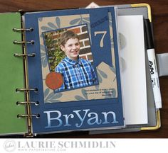School Dashboards - Bryan by Laurie Schmidlin for Papertrey Ink (August 2016)