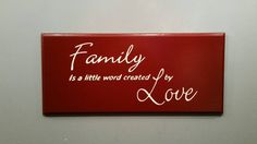 Check out this item in my Etsy shop https://www.etsy.com/listing/465021736/engraved-family-sign-love-sign