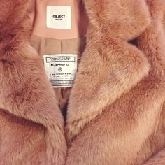 This baby just arrived at the office - we can't wait to AW15 #aw15 #furrycoat #yay #objectfashion