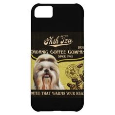 Shih Tzu Brand – Organic Coffee Company iPhone 5C Case