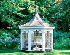 13 härliga anledningar att önska sig ett lusthus till sommaren - Sköna hem