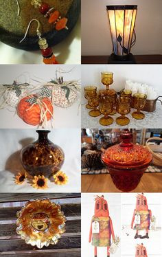 Fall Finds with Gratitude. . . .  by Brenda L. Marsh on Etsy--Pinned with TreasuryPin.com