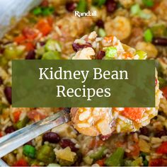 From soups and salads to sandwiches and even desserts, beans make a terrific addition to any meal. Get the tastiest bean recipes here! Bean Recipes, Healthy Recipes, Recipes With Kidney Beans, Healthy Family Meals, Soup And Salad, Recipe Using, Organic Recipes, Salads, Sandwiches