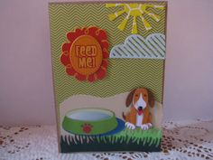 Made with Doggy Love- A Handmade Doggy/Puppy card- Can be used for Any Occasion